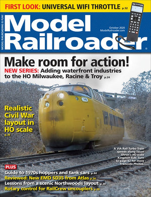 Model Railroader - Magazine - Vol. 87 - Issue 10 - Oct. 2020