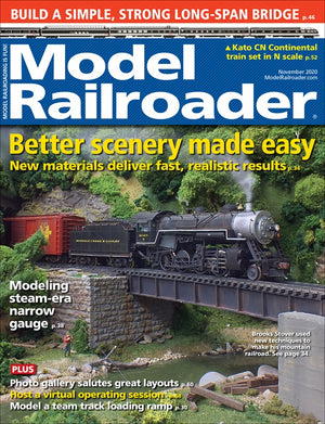 Model Railroader - Magazine - Vol. 87 - Issue 11 - Nov. 2020