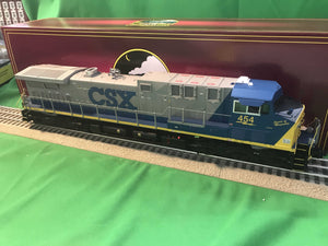 "MTH 20-21060-1 - AC4400cw Diesel Engine ""CSX"" #454 Spirit of Magnolia w/ PS3 (Hi-Rail Wheels)"