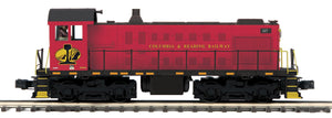 "MTH 20-21177-1 - Alco S-2 Switcher Diesel Engine ""Columbia & Reading Railway"" #227 w/ PS3"