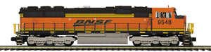 "MTH 20-21198-1 - SD70Mac Diesel Engine ""BNSF"" #9846 w/ PS3 (Hi-Rail Wheels)"