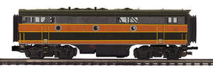 "MTH 20-21236-3 - F-7 B-Unit Diesel ""Great Northern"" (Non-Powered)"