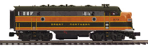 "MTH 20-21236-4 - F-7 A Unit Non-Powered Diesel Engine ""Great Northern"" (Hi-Rail Wheels)"