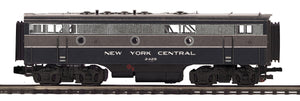 "MTH 20-21238-3 - F-7 B-Unit Diesel ""New York Central"" #2428 (Non-Powered)"