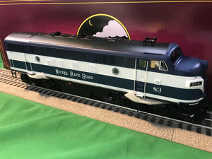 "MTH 20-21239-1 - F-7 A Unit Diesel Engine ""Nickel Plate Road"" #83 w/ PS3 (Hi-Rail Wheels)"