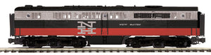 "MTH 20-21242-3 - Alco PA B-Unit Diesel ""New Haven"" #0769 (Non-Powered)"