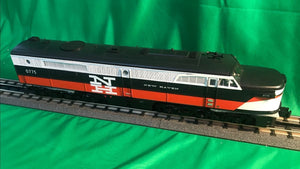 "MTH 20-21243-1 - Alco PA A Unit Diesel Engine ""New Haven"" #0775 w/ PS3 (Hi-Rail Wheels)"