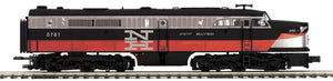 "MTH 20-21243-4 - Alco PA A Unit Non-Powered Diesel Engine ""New Haven"" #0781 (Hi-Rail Wheels)"