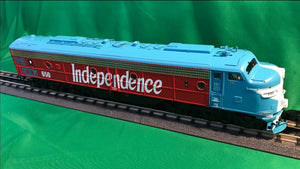 "MTH 20-21249-4 - E-8 A Unit Diesel Engine ""Rock Island"" #650 (Non-Powered)"