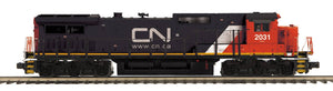 "MTH 20-21279-1 - Dash-8 Narrow Nose Diesel Engine ""Canadian National"" w/ PS3 (Hi-Rail Wheels)"
