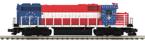 MTH 20-21301-1 Boston & Maine GP38-2 Diesel Engine With Proto-Sound 3.0 (Hi-Rail Wheels)
