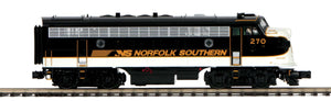 MTH 20-21357-4 Norfolk Southern F-7 A Unit Non-Powered Diesel Engine (Hi-Rail Wheels)