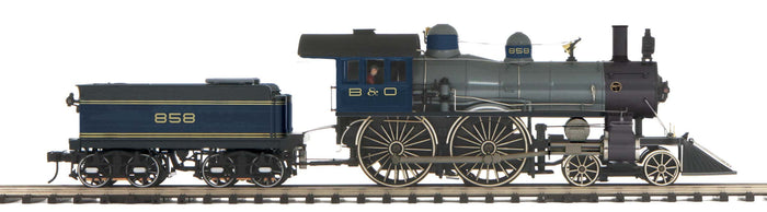 "MTH 20-3782-1 - 4-4-0 American Steam Engine ""Baltimore & Ohio"" w/ PS3 (86"" Hi-Rail Wheels)"