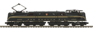 "MTH 20-5729-1 - GG-1 Electric Engine ""Pennsylvania"" Brunswick Green 5-Stripe w/ PS3"