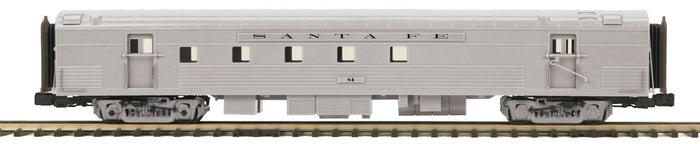 MTH 20-64187 Santa Fe 70' Streamlined RPO Passenger Cars (Ribbed Sided)