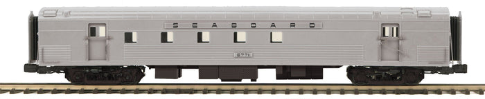 MTH 20-64192 Seaboard 70' Streamlined RPO Passenger Cars (Ribbed Sided)