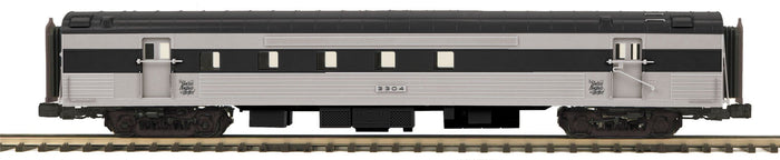 MTH 20-64202 New Haven 70' Streamlined RPO Passenger Cars (Ribbed Sided)