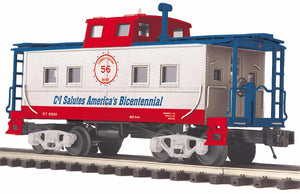 "MTH 20-91666 - Steel Caboose - Center Cupola ""Cambria & Indiana"""