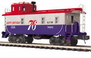 MTH 20-91688 Grand Trunk Western Steel Caboose
