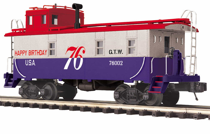"MTH 20-91688 - Steel Caboose ""Grand Trunk Western"""