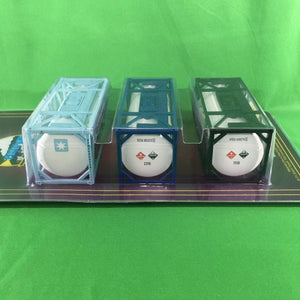 MTH 20-95376 - 20' Tank Container Set (3-Pack)