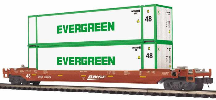 "MTH 20-95415 - Husky Stack Car ""BNSF"""