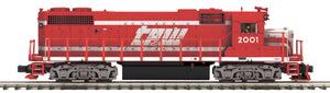 "MTH 22-21223-2 - GP38-2 Diesel Engine ""Toledo, Peoria & Western"" w/ PS3 (Scale Wheels)"