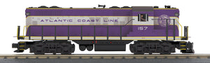 "MTH 30-20649-1 - GP-7 Diesel Engine ""Atlantic Coast Line"" #157 w/ PS3"