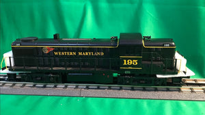 "MTH 30-20653-1 - RS-3 Diesel Engine ""Western Maryland"" #195 w/ PS3"