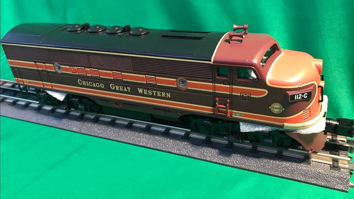"MTH 30-20669-1 - F-3 ABA Diesel Engine Set ""Chicago Great Western"" w/ PS3"
