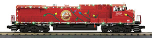 "MTH 30-20759-1 - Dash-8 Diesel Engine ""Christmas"" w/ PS3 & LED Lights"