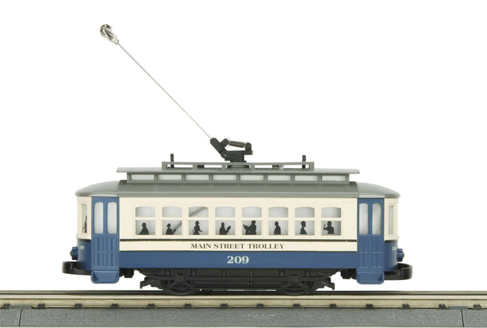 "MTH 30-5191 - Bump-n-Go Trolley ""Main Street"""