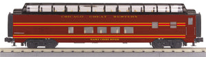 "MTH 30-68147 - 60' Streamlined Full-Length Vista Dome Car ""Chicago & Great Western"""