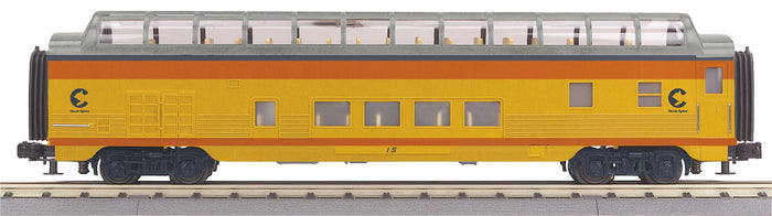 MTH 30-68179 Chessie 60' Streamlined Full-Length Vista Dome Car