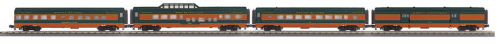 "MTH 30-68184 - 60' Streamlined Passenger Set ""Great Northern"" (4-Car)"