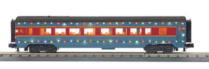 "MTH 30-68206 - 60' Streamlined Coach Car ""North Pole"" w/ LED Lights"