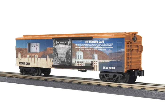 "MTH 30-71023 - Box Car ""Hoover Dam"" w/ Power Meter"