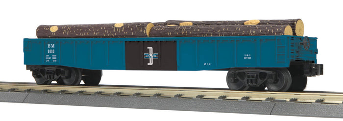 "MTH 30-72221 - Gondola Car ""Boston & Maine"" w/ Log Load"