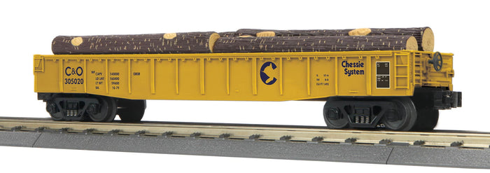 "MTH 30-72222 - Gondola Car ""Chessie"" w/ Log Load"