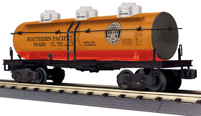 "MTH 30-73570 - 3-Dome Tank Car ""Southern Pacific"""