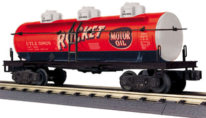 "MTH 30-73573 - 3-Dome Tank Car ""Rocket Motor Oil"