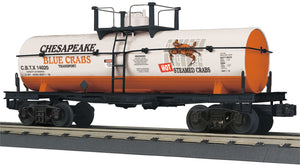"MTH 30-73576 - Smoking Tank Car ""Chesapeake Blue Crabs"""