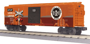 "MTH 30-74976 - Box Car ""Bessemer & Lake Erie"" w/ Blinking LEDs"