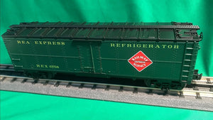"MTH 30-78214 - Modern Reefer Car ""Railway Express Agency"""