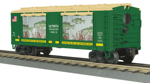 "MTH 30-79599 - Operating Action Car ""Large Mouth Bass"""