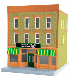 "MTH 30-90617 - 3-Story City Building 1 ""Greenville Hardware"""