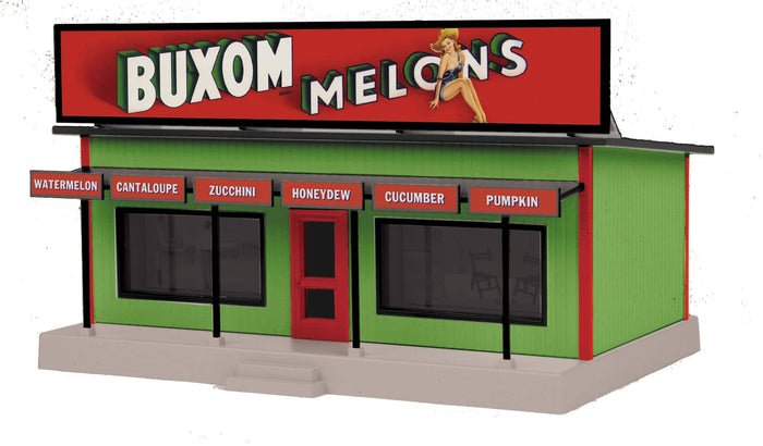 "MTH 30-90620 - Road Side Stand ""Buxum Melons"""