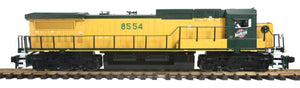 "MTH 70-2129-1 - Dash-8 Diesel Engine ""Chicago & North Western"" w/ PS3 (Narrow Nose/6-Wheel Truck)"