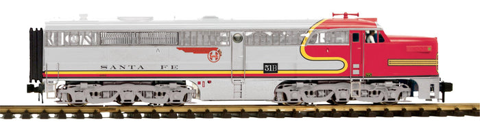 "MTH 70-2141-4 - Alco PA A-Unit Diesel ""Santa Fe"" (Non-Powered)"