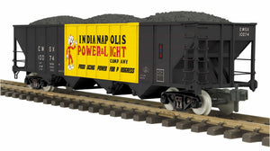 "MTH 70-75075 - 4-Bay Hopper Car ""Indianapolis Power & Light"""